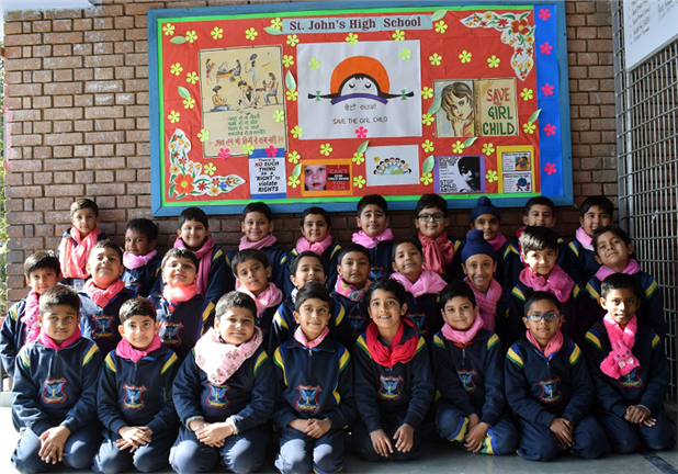 Young Johnians Celebrate the National Girl Child Day